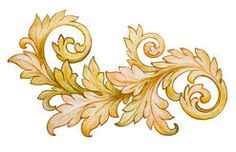 Vintage Baroque Foliage Floral Scroll Ornament Vector - Download From Over 51 Million High Quality Stock Photos, Images, Vectors. Sign up for FREE today. Image: 50237183