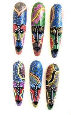 tribal masks - Google Search