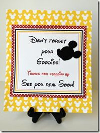 Mickey Mouse Party Sign Minnie Mouse Favors, Mickey Y Minnie, Mickey Mouse Parties, Mickey Party, Disney Mickey, Rio Birthday Parties, Birthday Fun, Birthday Ideas, Daisy Duck Party
