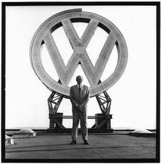 Rudolph Leiding (VW) by Lothar Wolleh
