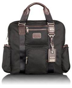 Tumi Luggage Alpha Bravo Fallon Utility Tote, Hickory, One Size TUMI. $276.00