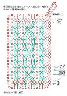 アラン模様風のアクリルたわしの作り方 手順|2|編み物|編み物・手芸・ソーイング|ハンドメイドカテゴリ|ハンドメイド、手作り作品の作り方ならアトリエ