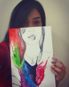 Draw with your heart #drawing #watercolor