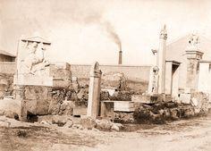 https://flic.kr/p/rTTQxH | Kerameikos + Gazi chimney ca. 1880