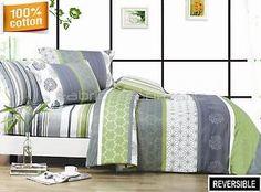 DEXTER-Double-Queen-King-Size-Bed-Quilt-Doona-Duvet-Cover-Sheet-Set-Eurocase-New