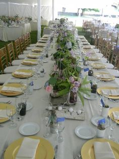 Tablescapes! With birch, pearls, mercury, and flowers!