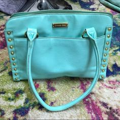 Tiffany blue handbag by Gianni Bini Tiffany blue handbag by Gianni Bini Gianni Bini Bags Shoulder Bags