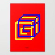 GG pop Canvas Print by TypoLife
