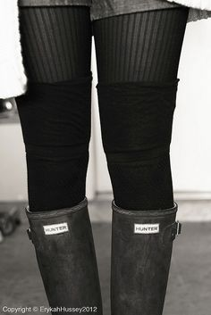 Layered tights