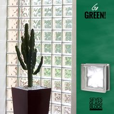 Yes glass blocks are green. Save loads of money and energy with the new energy saving glass block. Available by Bouwglas Gesman. Available in many designs and colors. #glassblocks #glazenbouwstenen #glasdallen #architecture #design #seves #glassblock #bouwglas #bouwglasgesman #glasblok