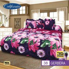 Sprei Set (King 180×200) motif Gerbera Premium Lembut. Takut tidak sesuai Ukuran (kekecilan/kebesaran) ??? Kami beri garansi 30 Hari. Gerbera, Comforters, Blanket, Bed, Home, Creature Comforts, Quilts, Stream Bed, Rug