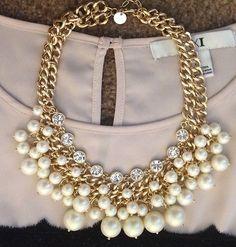Fun Daisy Vintage Pearl Necklace J Crew | eBay