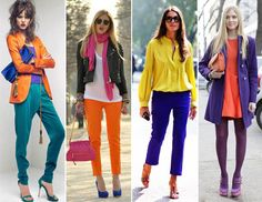 Guide to Mixing and Matching Colors - http://heeyfashion.com/2015/05/guide-to-mix-and-matching-colors/