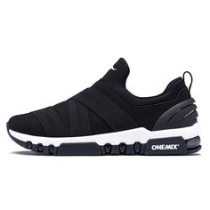 2018 Max Man Running Shoes Slip On Men Trail Nice Trends Athletic Trainers Black Sports Boots Cushion Outdoor Walking Sneakers Slip On Sneakers, Casual Sneakers, Air Max Sneakers, Sneakers Women, Shoes Men, Men's Shoes, Zapatos Slip On, Cheap Running Shoes, Jogging Shoes