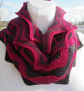 Crochet Patterns Scarf Ravelry: High Mountain pattern by Waltraud Dick free pattern Crochet Shawls And Wraps, Knitted Shawls, Crochet Scarves, Shawl Patterns, Knitting Patterns Free, Free Pattern, Crochet Patterns, Ravelry Crochet, Knit Crochet