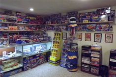 Mike Zarnock's Hot Wheels Room at home!
