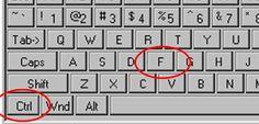 9 στους 10 έχουν άγνοια για την λειτουργία CTRL+F του υπολογιστή  - Σύμφωνα με έρευνα που διεξήγαγε η Google, το 90% των ανθρώπων που χρησιμοποιούν το Internet αγνοούν μια πολύ βασική λειτουργία. Όπως φαίνεται, το keyboard shortcut Control+F είναι κάτι άγνωστο για τον περισσότερο κόσμο! Η υ�