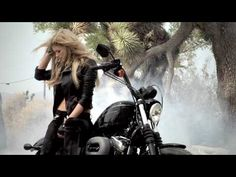 Awesome Video - Sexy, Beautiful and Inspirational... Can't wait to be on the road, a girl on my own motorcycle.