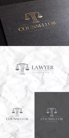 Counsellor Logo Template AI, EPS