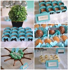 Isa's b-day: tiffany party #tiffany #blue #party #ideas #bday #casadasamigas #decor