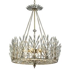 Buy the Elk Lighting Aged Silver Direct. Shop for the Elk Lighting Aged Silver Viva Natura 6 Light Chandelier and save. Art Deco Chandelier, Silver Chandelier, Chandelier Ceiling Lights, Mini Chandelier, Chandelier Shades, Chandelier Crystals, Kitchen Chandelier, Crystal Chandeliers, Crystal Pendant Lighting