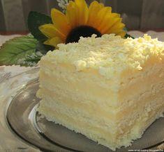 Moje pyszne, łatwe i sprawdzone przepisy :-) : Ciasto Aniołek-śmietanowy przekładaniec