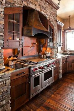 Below are the Rustic Country Kitchen Design Ideas. This post about Rustic Country Kitchen Design Ideas was posted under the Style At Home, Rustic Kitchen Design, Kitchen Designs, Rustic Design, Eclectic Kitchen, Tuscan Design, Kitchen Interior, Farmhouse Kitchen Cabinets, Rustic Cabinets