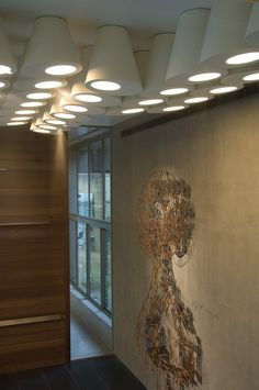 Lighting by PSLab for Archika on Saradar Offices, Beirut.