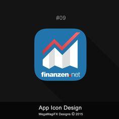 design an App logo for Germanys leading finance website by MegaMagiFX