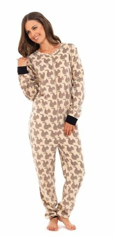 Squirrel Footie Pajamas... Is this for real??