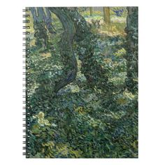 Undergrowth by Vincent Van Gogh Notebooks