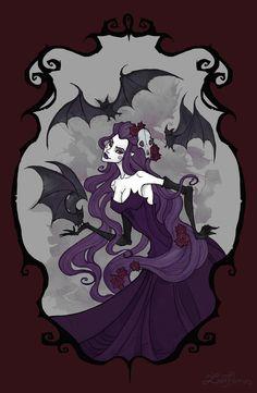 Bat's Dance by IrenHorrors.deviantart.com on @DeviantArt