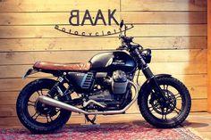Un scrambler prêt à prendre la route par toutes les conditions, pour un propriétaire qui ne trouvait pas de motos à la mesure de ses ambitions.