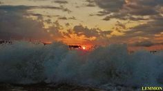 Outer Banks, NC Local Artists Facebook post- Avon Fishing Pier at Sunrise 7-26-14, photographer credit: Lemmon