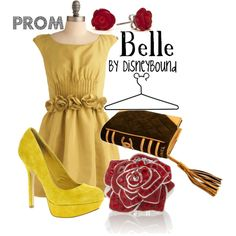 Belle, created by lalakay on Polyvore