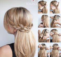 Confira lindos penteados fáceis com tranças 2015! Fotos, sugestões, dicas e tutórios que te ajudaram a fazer belos penteados fáceis com tranças 2015!