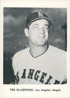 1961 Jay Publishing Los Angeles Angels #NNO Ted Kluzewski Front