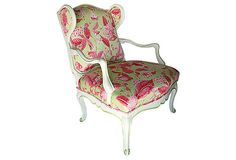 Painted Fauteuil - beautiful accent piece