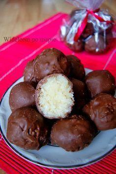 Bounty - lepszy niż oryginał Sweet Desserts, Sweet Recipes, Delicious Desserts, Yummy Food, Cookie Recipes, Dessert Recipes, Banana Pudding Recipes, Healthy Breakfast Smoothies, Sweet Cakes