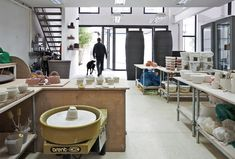 Das Studio des Keramikers #JulianStair