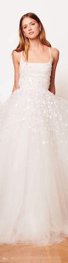 Fall 2018 Bridal Oscar de la Renta