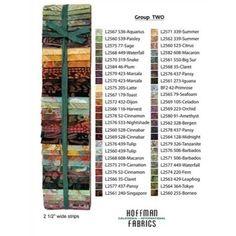 "Hoffman Judy Niemeyer Bali Pop 2.5""x44""x 48 Set 2"