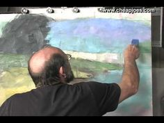 OIL: I love his table palette! (Defining Color Masses Part 5 of 11 with Andy Braitman)