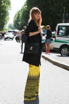 Streetstyle Milano SS13 Fashion Week