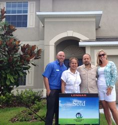 CONGRATS to our #HappyHomeowners, the Pellot family for purchasing their home in Hawks Point.