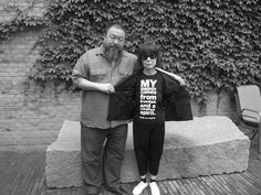 Ai Wei Wei & Rei Kawakubo.   My energy comes from freedom and a rebellious spirit.