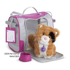 American Girl Doll Pet Carrier