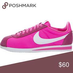 nike cortez hot pink