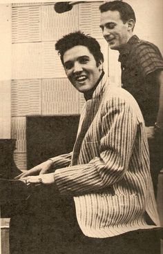 "Elvis Presley recorded the soundtrack for ""Jailhouse Rock"" at Radio Recorders in Hollywood on April 30 and May 3, with an additional session at the MGM Soundstage on May 9. During post-production, the songs were dubbed into the films scenes, in which Presley mimed the lyrics."