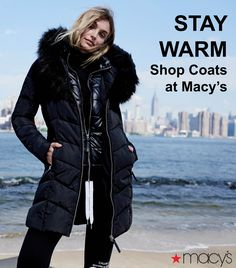 This fall, it's all about outfit-making outerwear. Take your pick with Macy's guide to the best statement coats, inspired by the season's top trends! Cute Hiking Outfit, Star Fashion, Fashion Outfits, Coats For Women, Clothes For Women, Plus Size Womens Clothing, Winter Wear, Poses, Classy Outfits